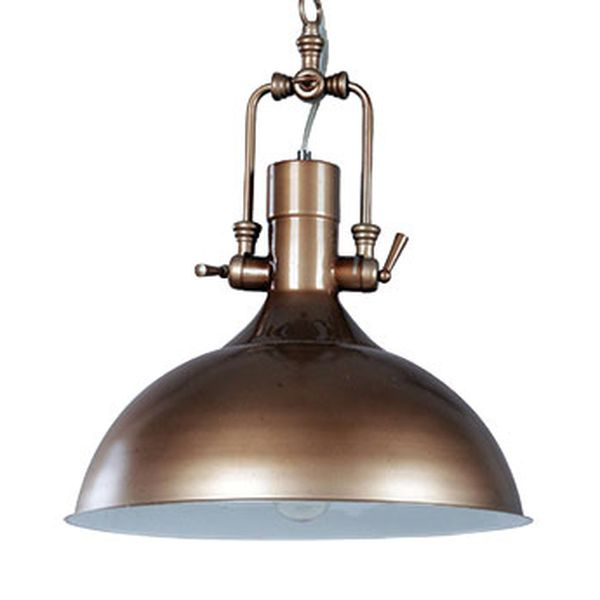 Kitchen Light Fittings Homebase: Cottage Industrial Pendant