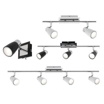 Alecia Interior LED Spotlights Brushed Chrome