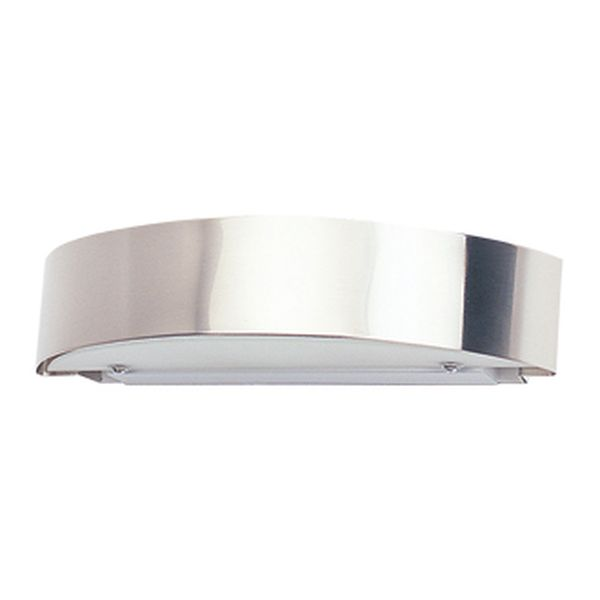 Bridge Brushed Chrome Up/Down Wall Light Amore Lighting Indoor & Outdoor Lighting ...