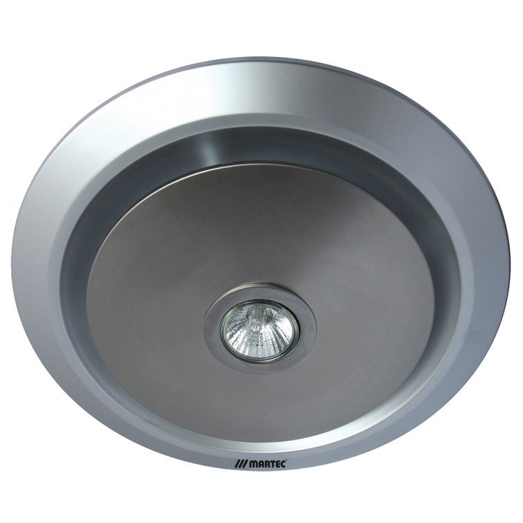 Gyro Round Bathroom Exhaust Fan With Led Light Amore
