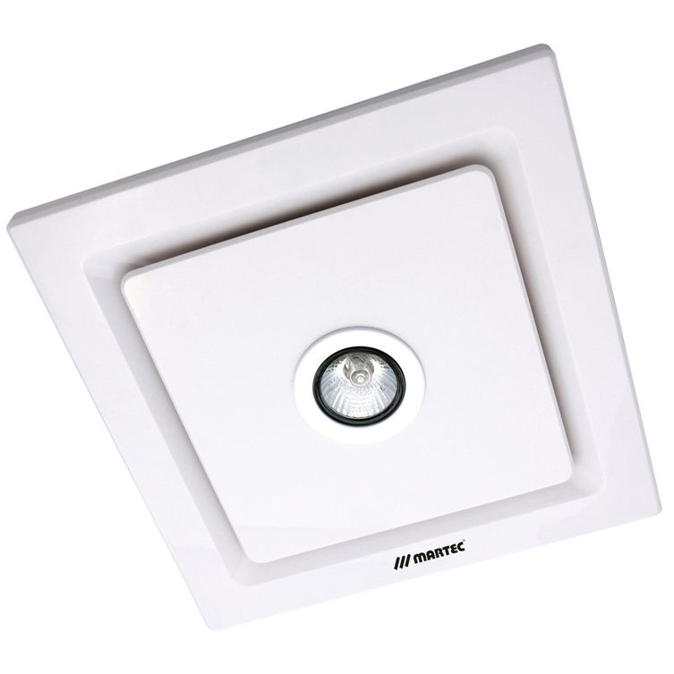Tetra Square Bathroom Exhaust Fan With Led Light