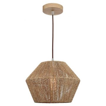 Cassie 1light Natural Thread Pendant Light