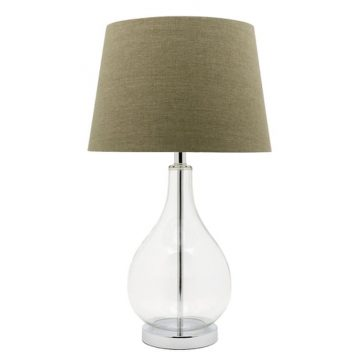 Gina Clear Base table Lamp