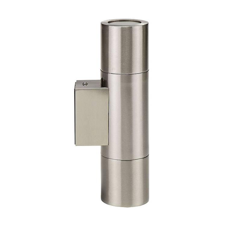 Piaz Stainless Steel Up & Down Wall Pillar Lights