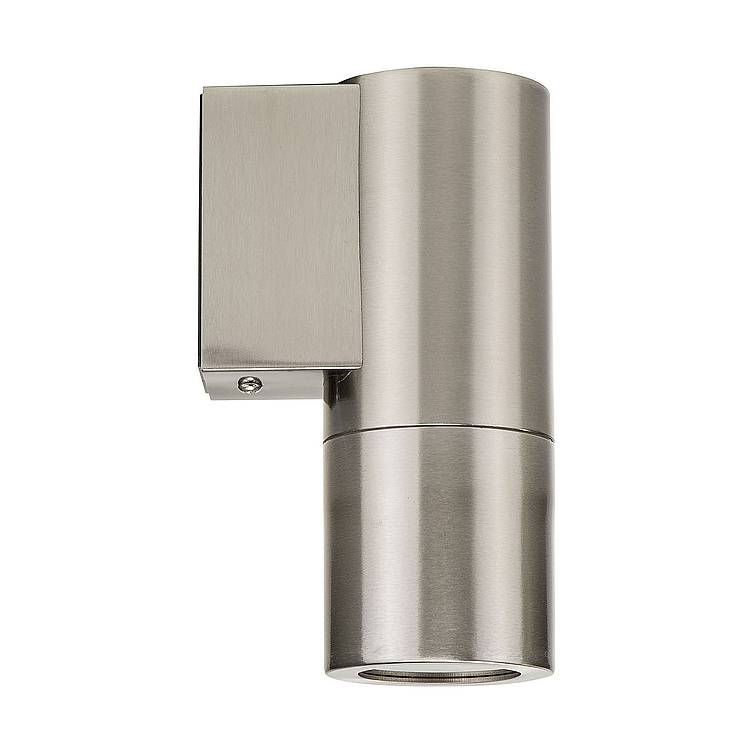 Piaz Stainless Steel Fixed Down LED Wall Pillar Light