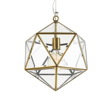 Lazlo Geometric Pendant Light