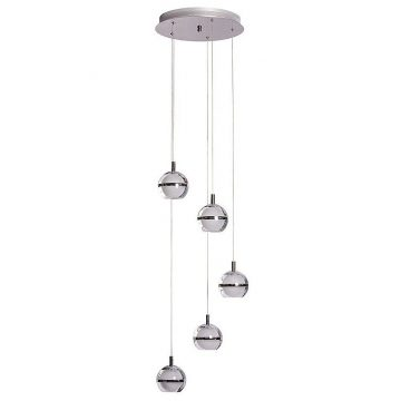Pod 5 Light Pendant Light